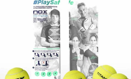 NOX lanza sus bolas de pádel anti-coronavirus