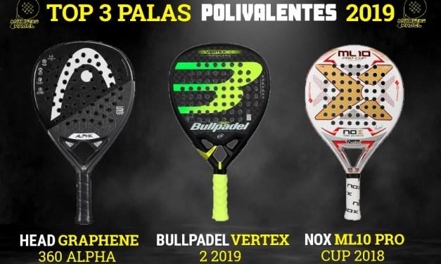 3 MEJORES PALAS POLIVALENTES 2019