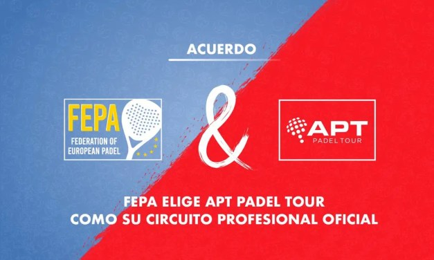 FEPA elige APT Padel Tour como su circuito profesional oficial