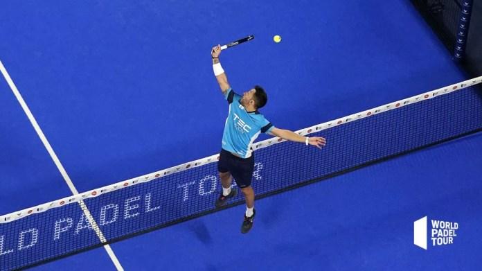 Sanyo Gutiérrez en semifinales Adeslas Open 2020