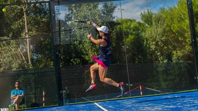 Lucía Sainz en cuartos de final Sardegna Open 2020