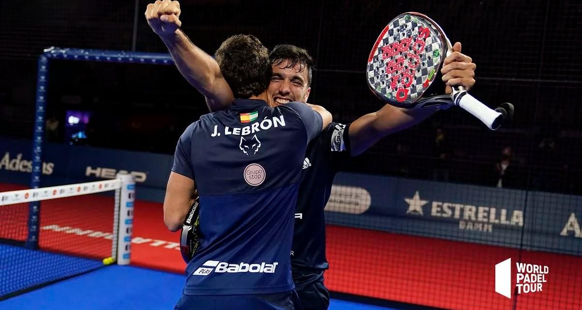 Lebrón y Galán, campeones del Barcelona Master 2020