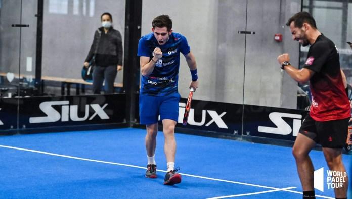 Ronda de previas masculinas del Cupra Las Rozas Open 2020