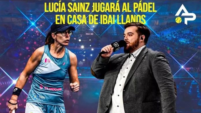 Ibai Llanos y Lucía Sainz nueva pareja de pádel