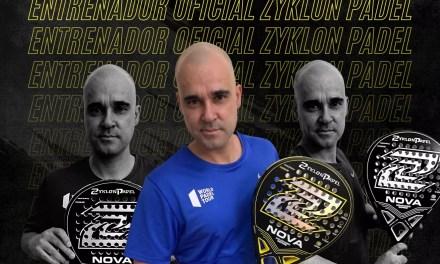 Claudio Gilardoni se une al Team Zyklon Padel