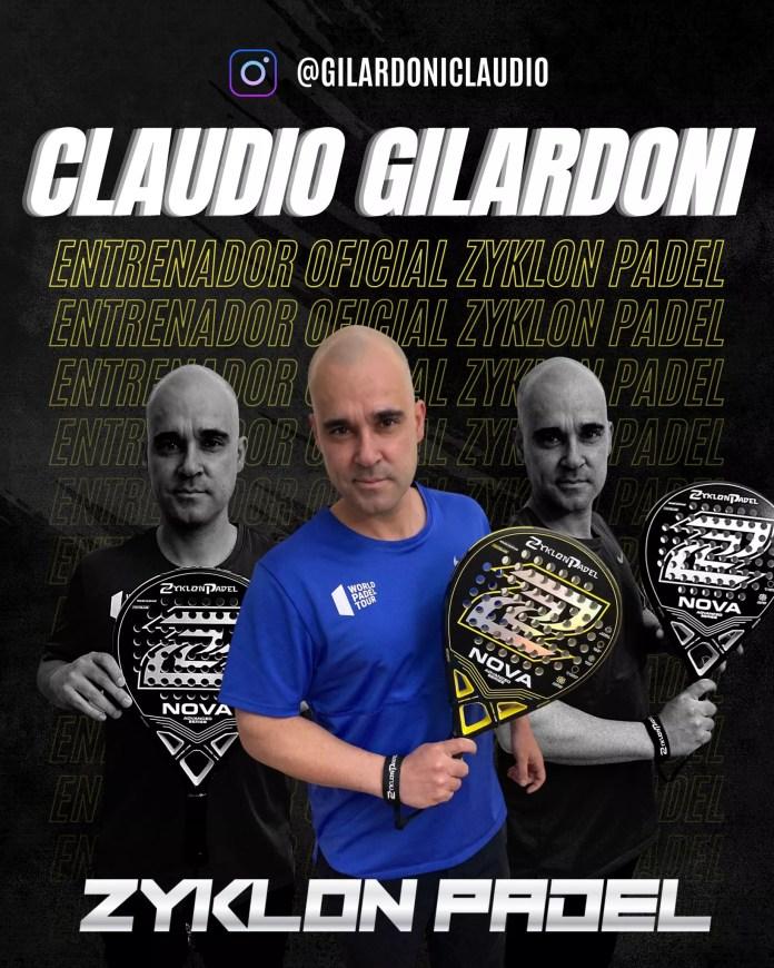 Claudio Gilardoni Zyklon Padel
