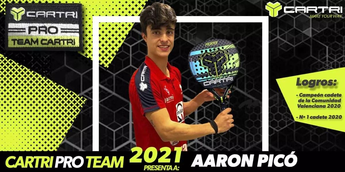 Aarón Picó, talento y juventud en el Team Cartri
