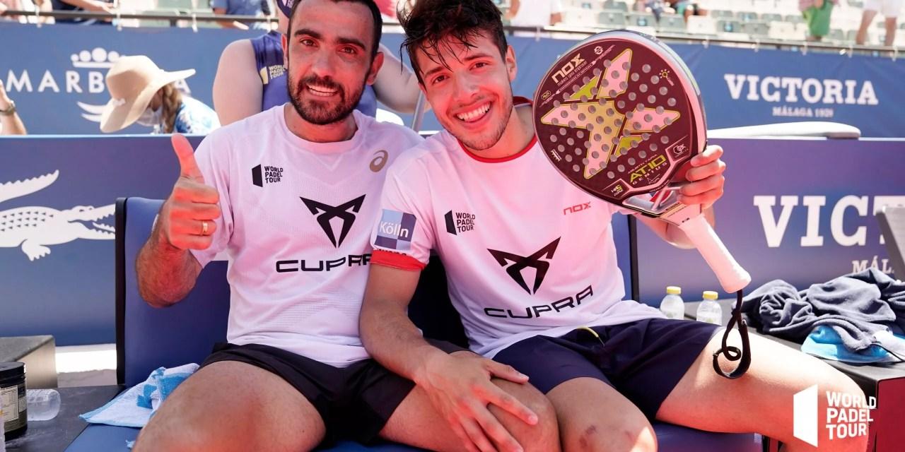 Lima y Tapia jugarán su primera final como pareja