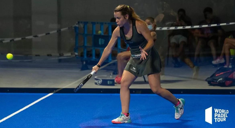 Lucía Martínez, con paso firme en Las Rozas Open