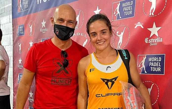 Paula Josemaría y Enric Bayón en el Estrella Damm Barcelona Master 2021
