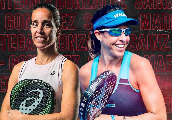 Marta Marrero y Lucía Sainz. Foto: AnalistasPadel