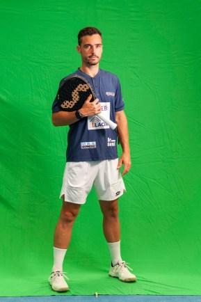 Sergio Icardo, jugador de pádel WPT
