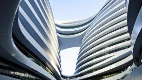 Galaxy Soho Building, obra de Zaha Hadid