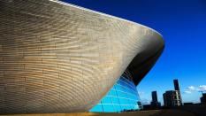 London Aquatics Centre, obra de Zaha Hadid
