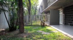 Jardín interno en la Facultad de Humanidades y Educación. Foto: Eudomar Chacón