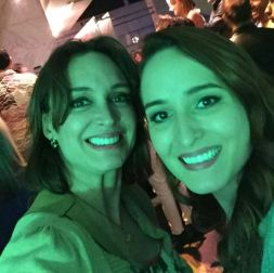 Verde que te quiero verde mi @graziellamazzone verde esperanza!, dice @doramazzone