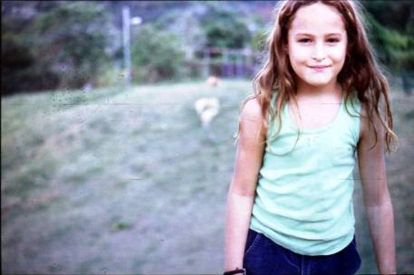 Graziella de niña. Foto: @graziellamazzone