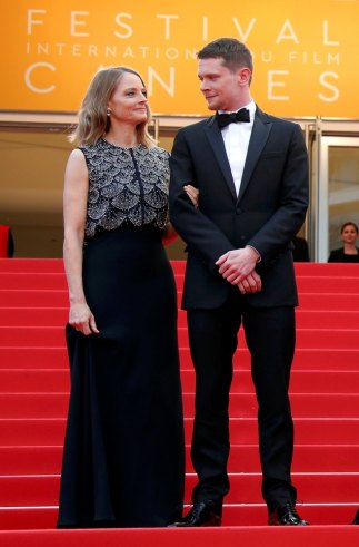 Jodie Foster y Jack O'Connell. Foto: Reuters