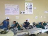 Huelga de hambre de médicos del Iahula/ Foto: Guillermo Ramos Flamerich