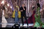 El cantante de country Chris Young en su performance durante el Miss USA 2016 / Foto: Reuters