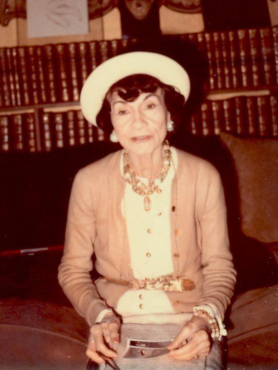Gabrielle Chanel en 1970