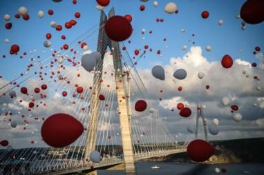 Puente sobre el Bósforo, en Estambul