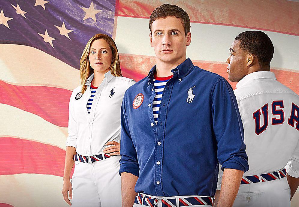 533d34b12 Diseños para el uniforme de la selección de Estados Unidos. por Polo Ralph  Lauren
