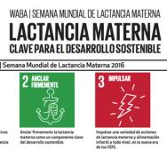 la Alianza Mundial Pro Lactancia Materna (WABA) promueve la jornada