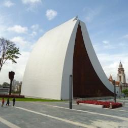 Mausoleo del Libertador, estructura construida al lado del Panteón Nacional de Venezuela