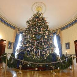 Salón principal de la Casa Blanca, Navidad 2013