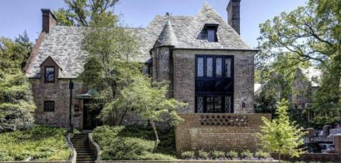 Nueva residencia de la familia Obama, en Kalorama (Washington DC)