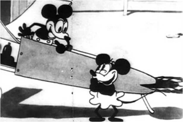 Mickey Mouse en Plane Crazy