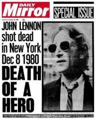 Así reseñaron los medios la muerte de Lennon