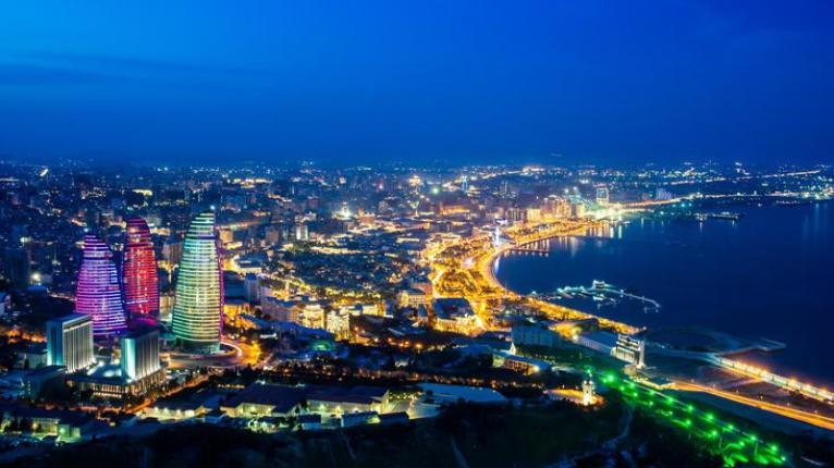 Baku, ciudad de Azerbaiyán