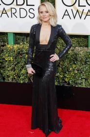 Kristen Bell en la ceremonia de los Golden Globes 2017