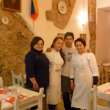 Sonia y su equipo / Foto: María Fernanda González