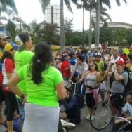 El punto de encuentro fue Plaza Venezuela