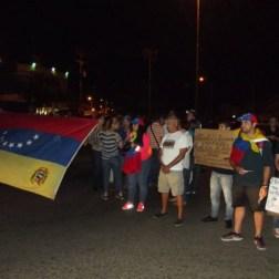 En Maturín realizaron protesta contra la Constituyente Fotos: Nataly Koussa