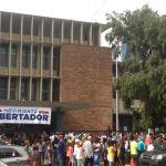 Así se encontraba el punto de San Francisco, en Panamá, en el Colegio Don Bosco de Vía Israel/ Foto: Damarins Díaz
