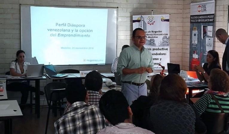 Emprecolven, emprendimiento venezolano en Medellín
