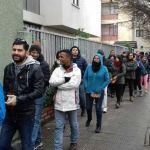Así participan los venezolanos en Santiago de Chile/ Foto: Cortesía