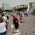 Gran cantidad de venezolanos asistió a votar en Tenerife, España/ Foto: José Alberto Padrón