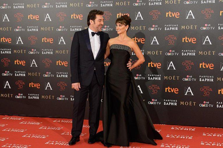 Penélope Cruz y Javier Bardem, actores españoles y esposos