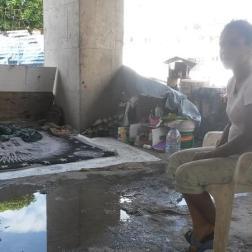 Yosmar Molina cumple 4 años viviendo con su familia en las calles