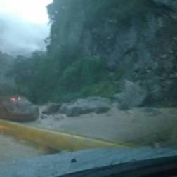 Derrumbes en Puerto Cabello