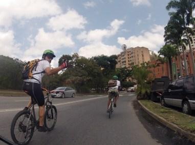 Al salir en bicicleta pasa algo diferente y especial, te das cuenta, mientras transcurren los días, que empiezas a verte y sentirte mejor Foto César Bastidas