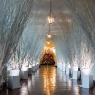 Melania Trump y su primera decoración navideña en la Casa Blanca