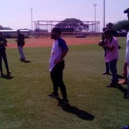 Altuve dictó clínica deportiva en San Joaquin / Foto: María Fernanda Gonzaléz - Analítica