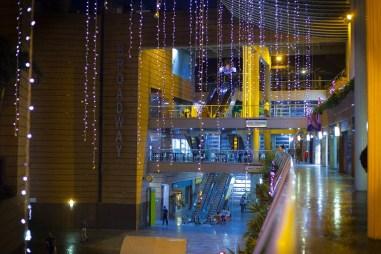 Encendido de la navidad en el Centro Comercial San Ignacio/ Foto: Cortesía