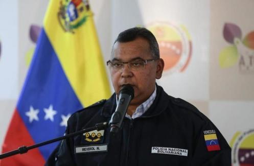 """Nestor Reverol: excomandante general de la Guardia Nacional Bolivariana (GNB): La UE lo hace responsable """"de graves violaciones de los derechos humanos y de la represión de la oposición democrática en Venezuela""""/ Foto: Archivo"""